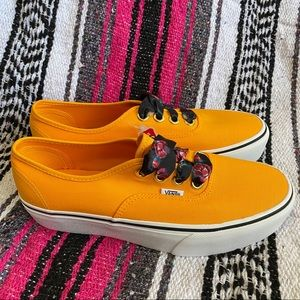 Vans Authentic Platform Oversized Laces zinnia NEW
